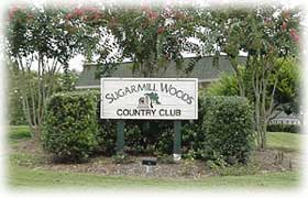 Sugarmill Woods Golf & Country Club sign